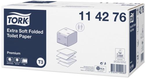 Tork Ekstra Yumuşak Katlamalı Tuvalet Kâğıdı Premium