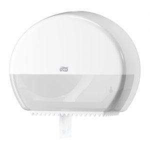 Tork Mini Jumbo Tuvalet Kâğıdı Dispenseri Beyaz