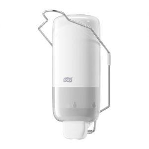 Tork Sıvı Sabun Dispenseri – Manivela Kollu Beyaz